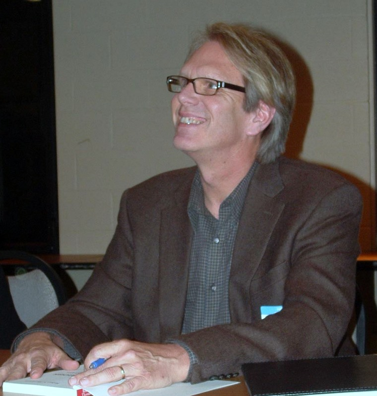 Bob at a Book Signing